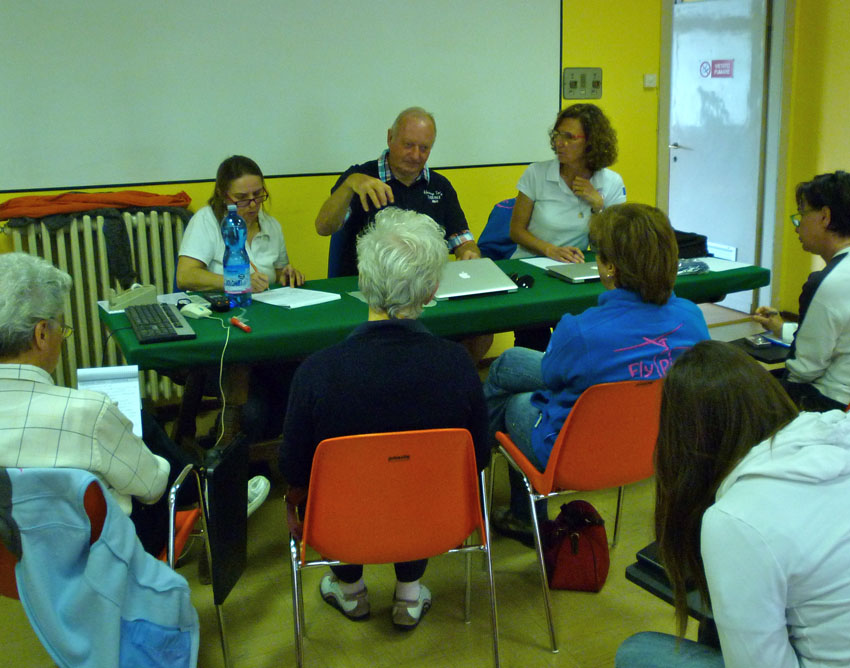 Briefing con JR
