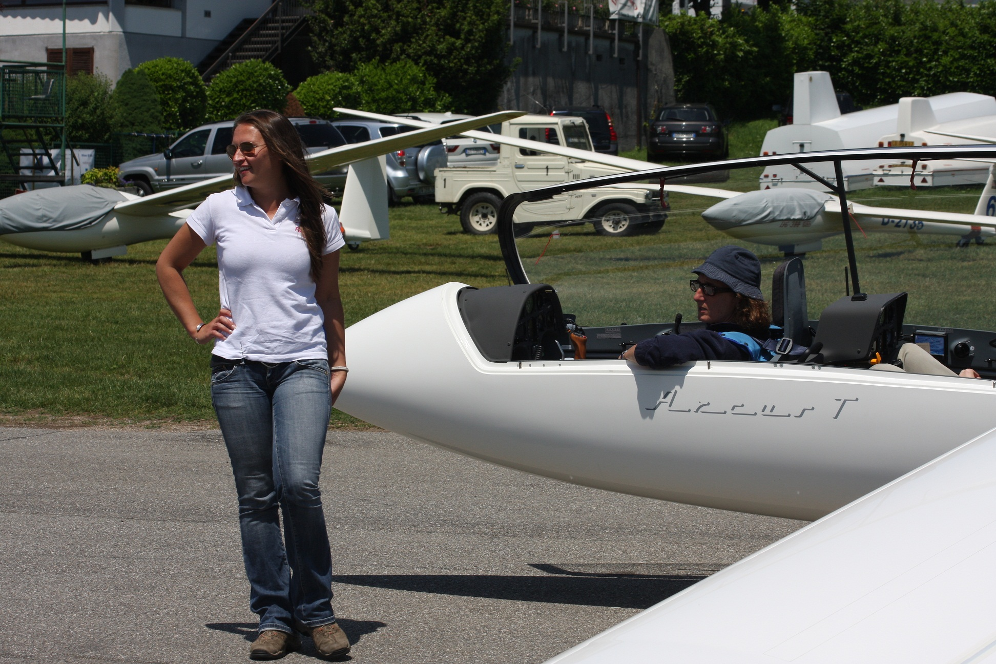 Francesca, assistente ala di Margot